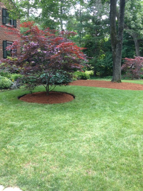 a landscaping job in tewksbury ma